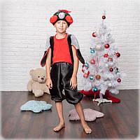 Детский новогодний костюм. Новогодний костюм снегиря. Карнавальный костюм.Новогодний костюм снегиря