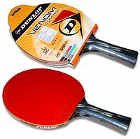 Ракетка для настольного тенниса ракетка Dunlop venom control TT Bat