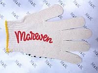 Нанесение логотипа на трикотажные перчатки