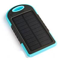 Солнечная батарея Mobile Solar Charger  c фонариком    .  f