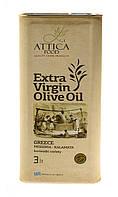 Оливковое масло Экстра Вирджин Мессиния/Extra Virgin Olive Oil Messinia/Attica Food, 3 л.  ж/б