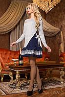 Оригинальное женское серое  платье  1960 Seventeen  44-50  размеры