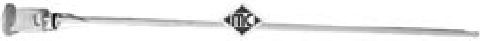 Щуп индикатор уровня масла на Renault Trafic  2003->  2.5dCi (135 л.с.)  — Metalcaucho (Испания)  -  MC04724