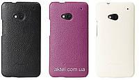 Кожаный чехол задняя крышка Melkco Snap leather cover для HTC Desire 200