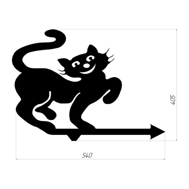 """Декоративний розпис """"Кіт 1"""""""