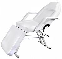 Косметологическая кушетка ZD-813 для косметолога, наращивания ресниц, татуаж, цвет белый, высота -70см.