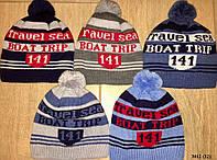 Детская шапка зимняя на мальчика 3012 (32)