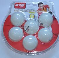 Шарики для настольного тенниса белые 1-STAR