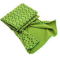 Коврик-полотенце для йоги Yoga Mat Towel FI-4938-4 зеленый