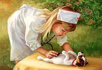 Пазлы Маленький доктор, 500 элементов Castorland В-52004