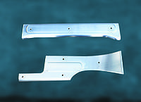 Накладки на внутрение пороги (4 шт, нерж.) - Peugeot Bipper (2008+)