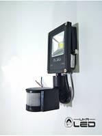 Светодиодный прожектор с датчиком движения 10Вт 6500К UkrLed
