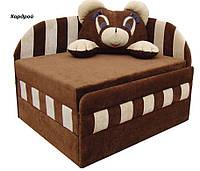Диван детский Панда мех., выкатной с подушкой, ткань Кордрой