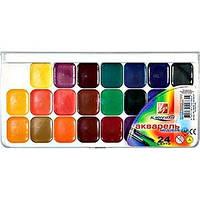 Акварельные  24 цвет. ЛУЧ Классика 19С1294-08 в пластиковой упаковке