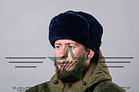 Шапка-ушанка военная мех (искусственный)  , фото 1