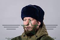 Шапка-ушанка военная мех (натуральный)  , фото 1