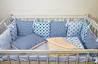 Набор постельного белья для детской кроватки