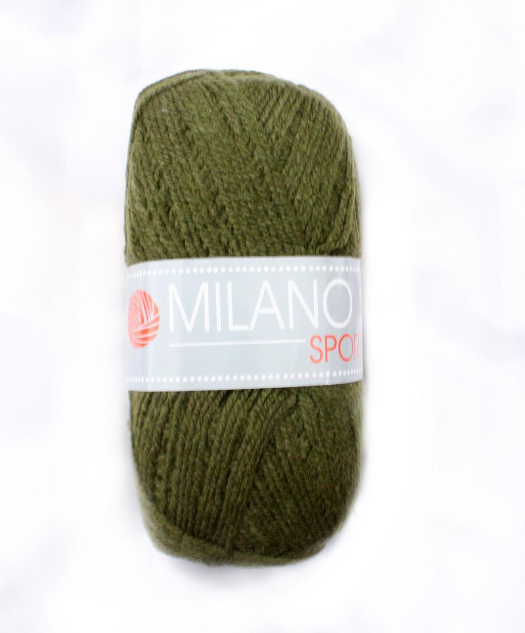Milano акриловая пряжа для ручного вязания 005 купить пряжу оптом