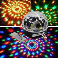 СВЕТОДИОДНЫЙ ДИСКО ШАР LED MAGIC BALL LIGHT С MP3 И USB купить  Киев