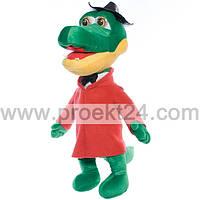 Мягкая игрушка Крокодил Гена, 40см