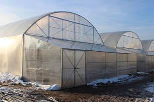 Промышленные теплицы, фермерские теплицы под пленку арочные, туннельные