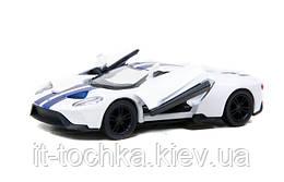 Модель металл легковая 5 kinsmart kt5391fw ford gt 2017 инерционная