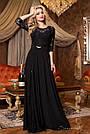 Платье вечернее чёрное женское, фото 2