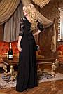 Платье вечернее чёрное женское, фото 3