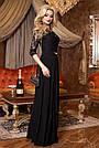 Платье вечернее чёрное женское, фото 4