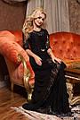 Платье вечернее чёрное женское, фото 6
