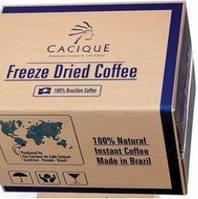 Сублимированный растворимый кофе Касик Cacique, фото 1