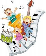 Розвиваємо слух дитячими музичними інструментами.