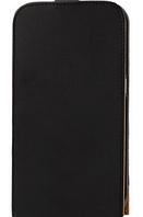 Кожаный чехол флип для Samsung Galaxy Mega 6.3 / i9200 черный