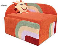 Диван Детский Солнышко мех., выкатной ткань Астра оранжевая