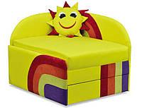 Диван Детский Солнышко мех., выкатной ткань Астра желтая