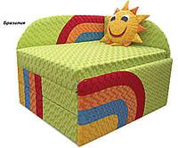 Диван Детский Солнышко мех., выкатной ткань Бразилия