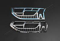 Накладки на стопы (2 шт, пластик) - Peugeot Boxer (2014+)