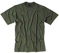 Милтек футболка 100% коттон серо-оливковая