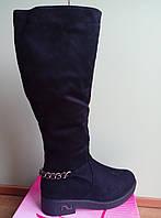 Зимові чоботи з ланцюжком заді