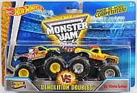 Hot Wheels Набор машинок-внедорожников 2 штуки 1:64 Demolition Doubles - Team Hot Wheels Vs. El Toro Loco 1:64 Scale