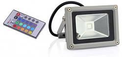 Светодиодный прожектор RGB 10Вт 6000К UkrLed