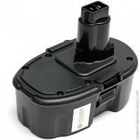 Аккумулятор  PowerPlant для инструментов DeWalt GD-DE-18A 18V 3Ач NiMh (DV00PT0035)