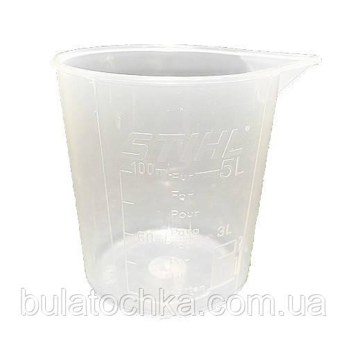 Мерный стакан STIHL 100 мл - BULATOCHKA маркетплейс, WEIMA официальный сайт, трактора BULAT, Мотор Сич, навесное AGROMARKA в Харькове