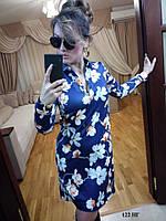 Женское платье с вырезом на спине 122 НГ