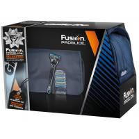 Набор для бритья Gillette Бритва Fusion ProGlide+3 кассеты+дорожная сумка (7702018359318)