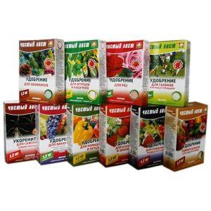 """Комплексные удобрения и средства для ухода за растениями ТМ """"Чистый лист"""""""