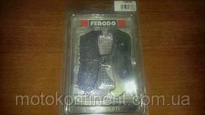 FDB499P Тормозные колодки Ferodo для мотоцикла HUSQVARNA WR 125 (1995-1997), фото 2