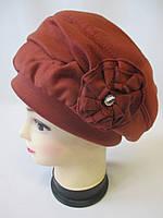 Зимние шапки с цветком ., фото 1