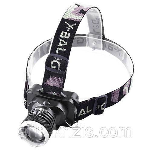 Фонарь на лоб Police 6879-XPE, zoom-гарантия!