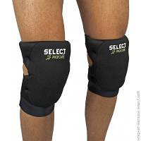 Наколенники Select Knee Support Volleyball Pak M, черный/зеленый (562060-228)